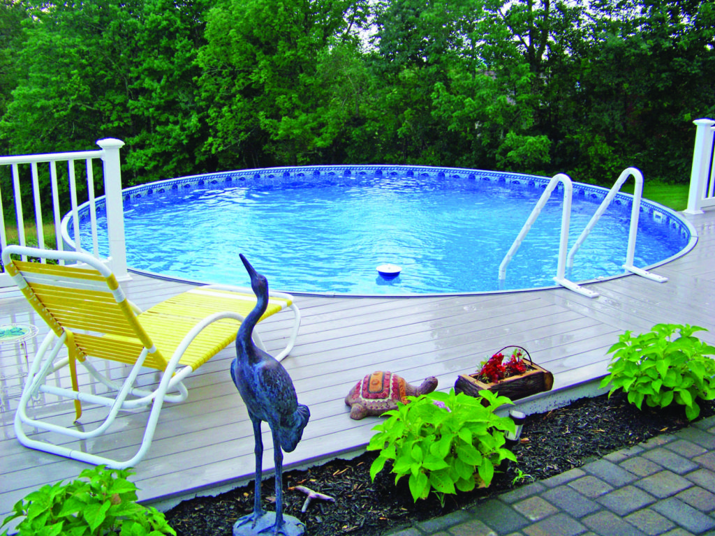 radiant pool with deck