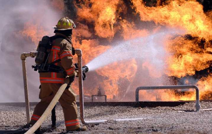 Saunas Help Firefighters Sweat Out Toxins