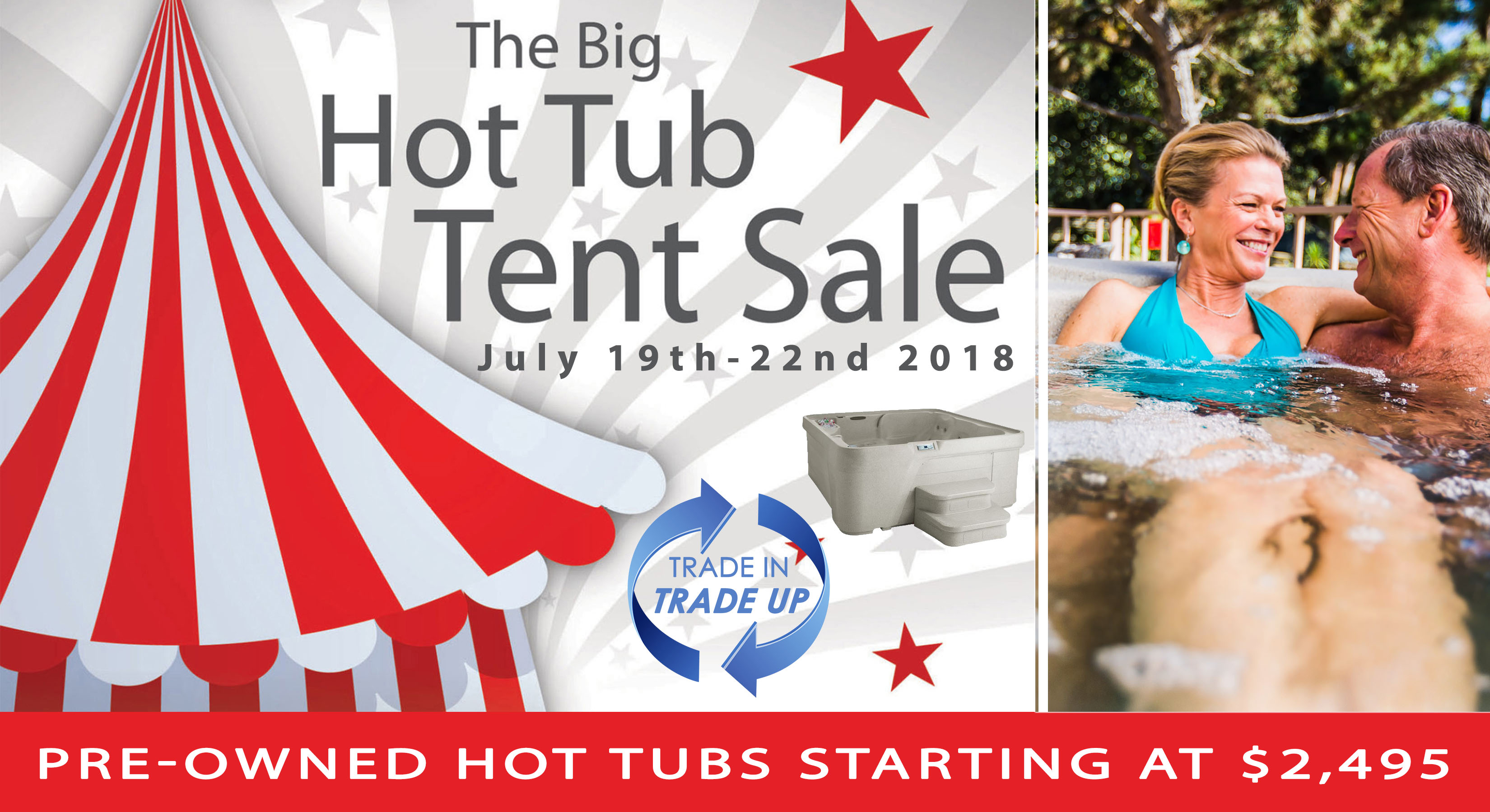 Tent Sale in White River Junction