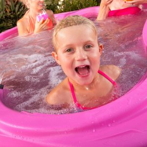 hot tub sale pink